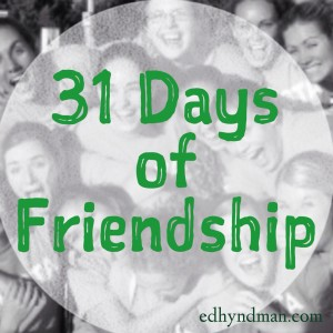 31DaysFriends